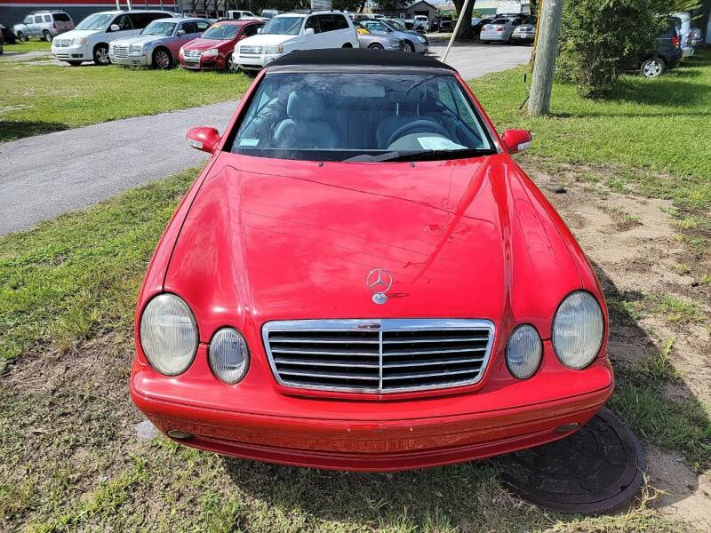 2000 Mercedes-Benz CLK for sale at Wally's Cars ,LLC. in Morehead City NC