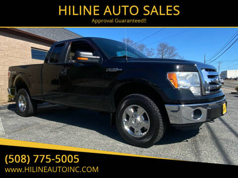 2011 Ford F-150 for sale at HILINE AUTO SALES in Hyannis MA