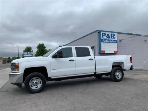 2018 Chevrolet Silverado 2500HD for sale at P & R Auto Sales in Pocatello ID