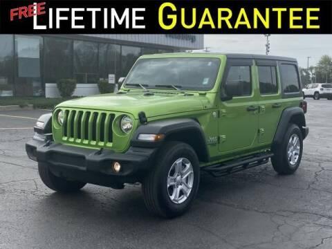 2018 Jeep Wrangler Unlimited for sale at Vicksburg Chrysler Dodge Jeep Ram in Vicksburg MI