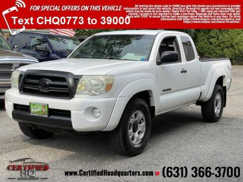 2006 Toyota Tacoma for sale at CERTIFIED HEADQUARTERS in Saint James NY