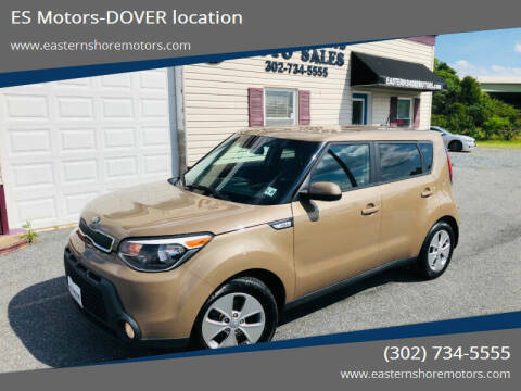 2015 Kia Soul for sale at ES Motors-DAGSBORO location - Dover in Dover DE