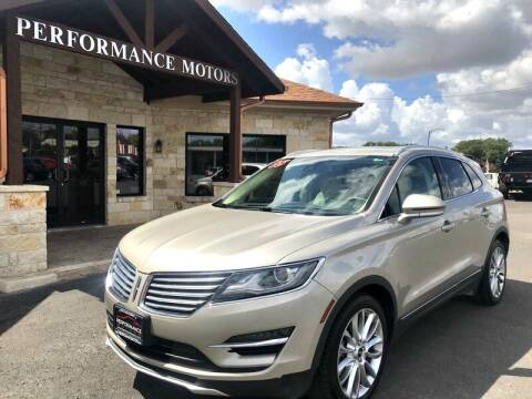 2015 Lincoln MKC for sale at Performance Motors Killeen Second Chance in Killeen TX