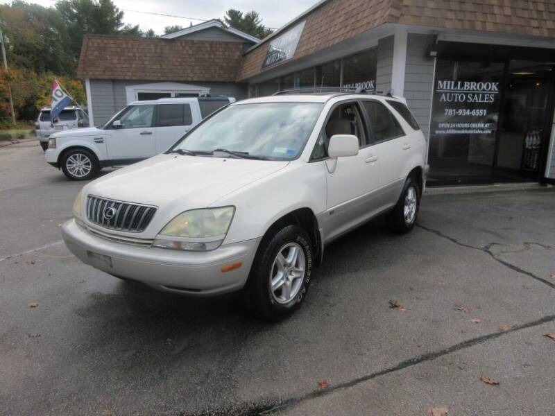 2002 Lexus RX 300 for sale at Millbrook Auto Sales in Duxbury MA