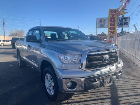 2011 Toyota Tundra for sale at Robert B Gibson Auto Sales INC in Albuquerque NM