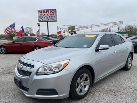2013 Chevrolet Malibu for sale at Mario Motors in South Houston TX