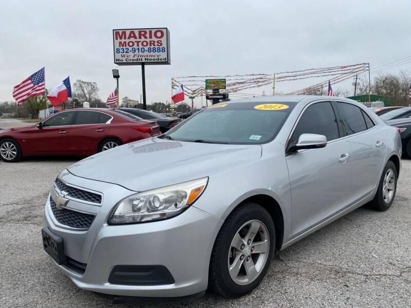 2013 Chevrolet Malibu for sale at Mario Motors in South Houston TX