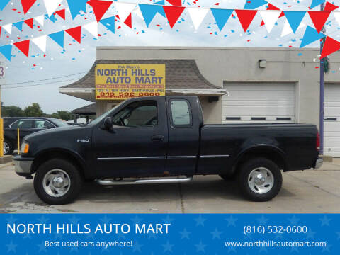 1997 Ford F-150 for sale at NORTH HILLS AUTO MART in Kansas City MO