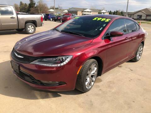 2015 Chrysler 200 for sale at Don's Sport Cars in Hortonville WI