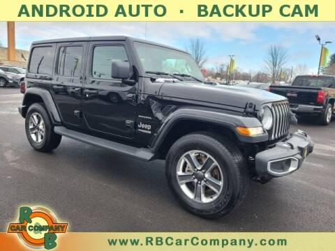 2020 Jeep Wrangler Unlimited for sale at R & B Car Company in South Bend IN