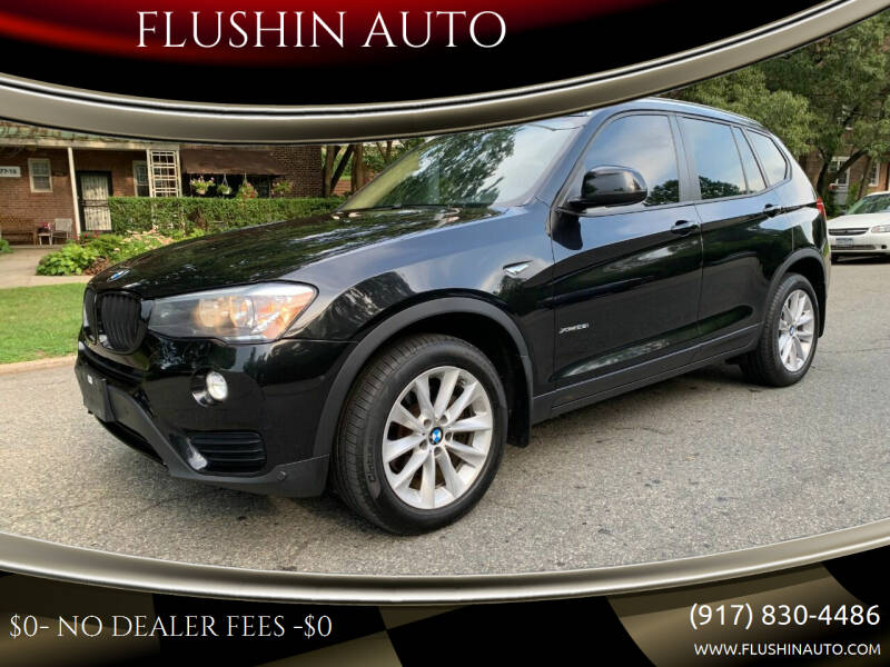2016 BMW X3 for sale at FLUSHIN AUTO in Flushing NY
