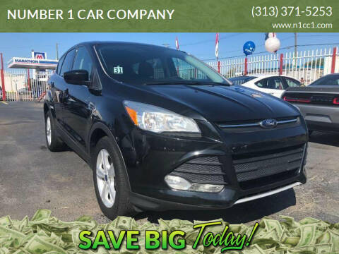 2013 Ford Escape for sale at NUMBER 1 CAR COMPANY in Detroit MI