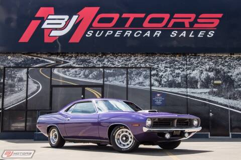1970 Plymouth Cuda for sale at BJ Motors in Tomball TX