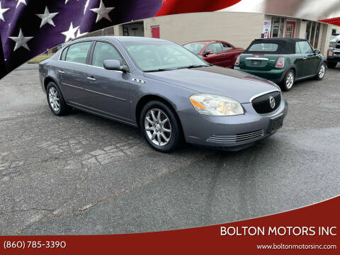 2007 Buick Lucerne for sale at BOLTON MOTORS INC in Bolton CT