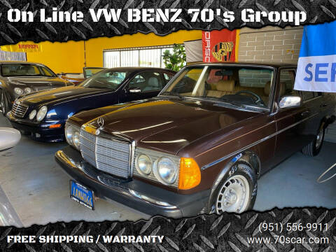1980 Mercedes-Benz 300-Class for sale at On Line VW BENZ 70's Group in Warehouse CA
