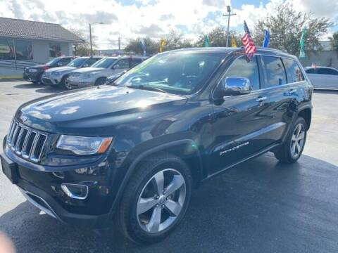 2014 Jeep Grand Cherokee for sale at Navarro Auto Motors in Hialeah FL