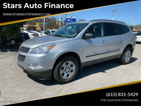 2012 Chevrolet Traverse for sale at Stars Auto Finance in Nashville TN