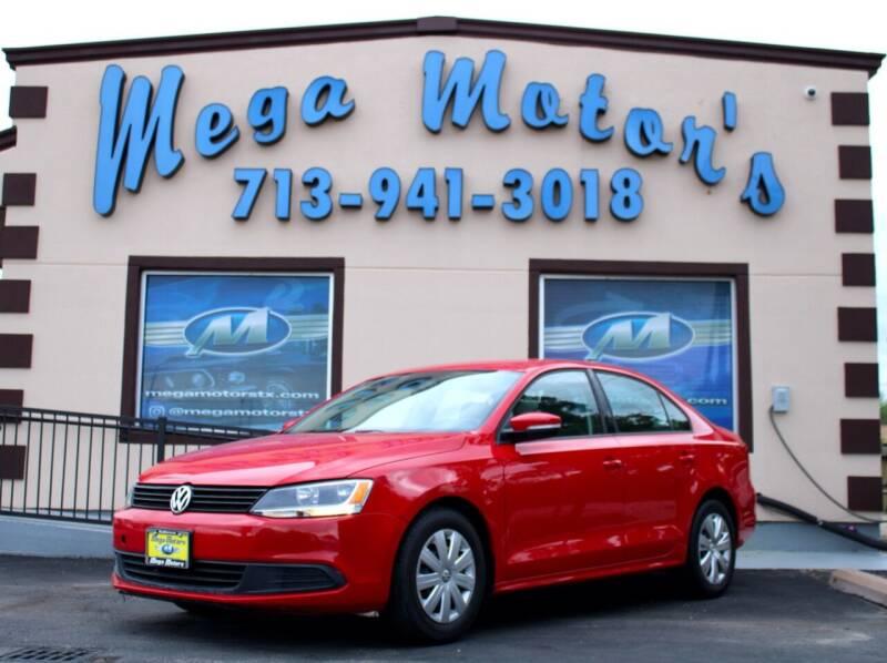 2012 Volkswagen Jetta for sale at MEGA MOTORS in South Houston TX
