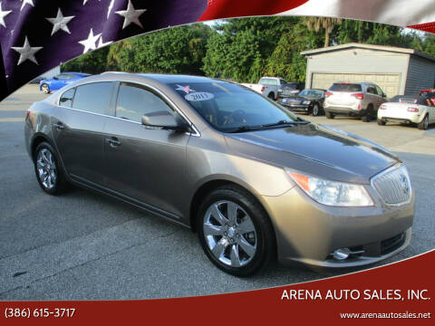 2011 Buick LaCrosse for sale at ARENA AUTO SALES,  INC. in Holly Hill FL