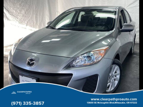 2012 Mazda MAZDA3 for sale at CLEARPATHPRO AUTO in Milwaukie OR