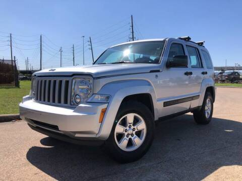 2012 Jeep Liberty for sale at TWIN CITY MOTORS in Houston TX