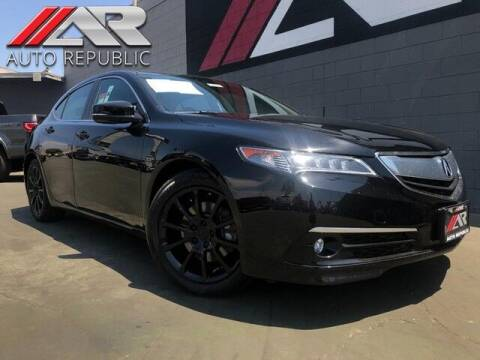 2015 Acura TLX for sale at Auto Republic Fullerton in Fullerton CA