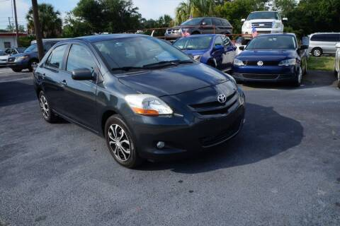 2008 Toyota Yaris for sale at J Linn Motors in Clearwater FL