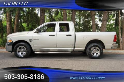 2010 Dodge Ram Pickup 1500 for sale at LOT 99 LLC in Milwaukie OR