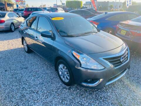 2018 Nissan Versa for sale at A AND A AUTO SALES in Gadsden AZ