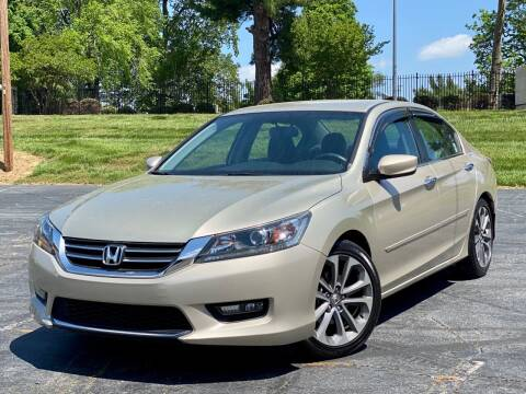 2015 Honda Accord for sale at Sebar Inc. in Greensboro NC