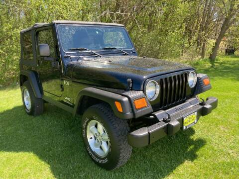 2003 Jeep Wrangler for sale at M & M Motors in West Allis WI