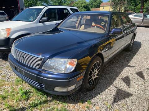 2000 Lexus LS 400 for sale at Trocci's Auto Sales in West Pittsburg PA