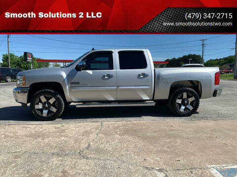 2012 Chevrolet Silverado 1500 for sale at Smooth Solutions 2 LLC in Springdale AR