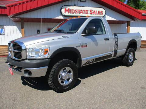 2009 Dodge Ram Pickup 2500 for sale at Midstate Sales in Foley MN