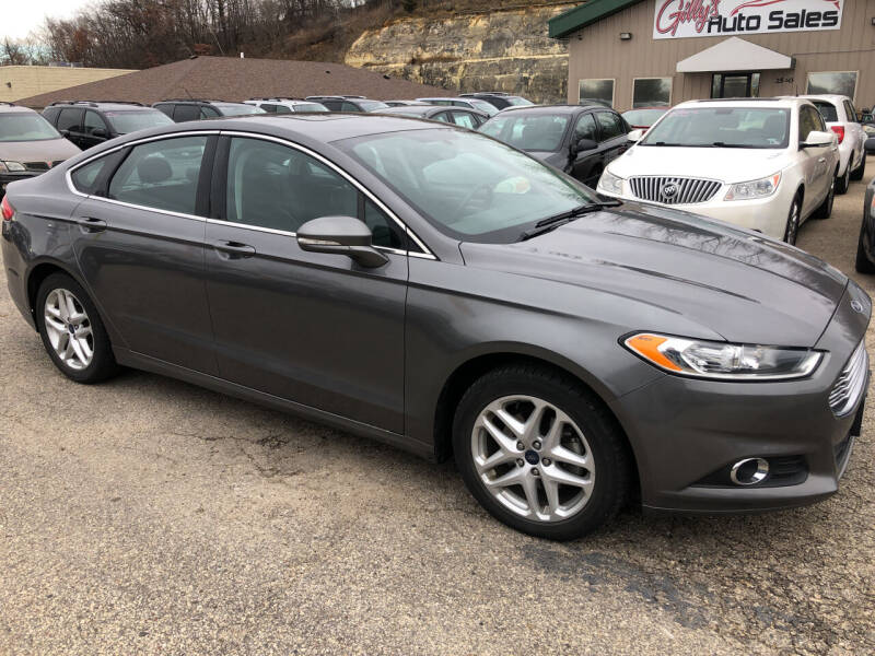 2013 Ford Fusion for sale at Gilly's Auto Sales in Rochester MN