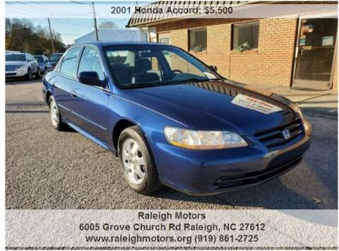 2001 Honda Accord for sale at Raleigh Motors in Raleigh NC
