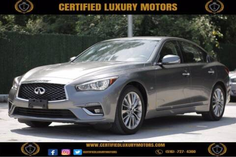 2018 Infiniti Q50 for sale at CERTIFIED LUXURY MOTORS OF QUEENS in Elmhurst NY