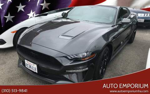 2018 Ford Mustang for sale at Auto Emporium in Wilmington CA