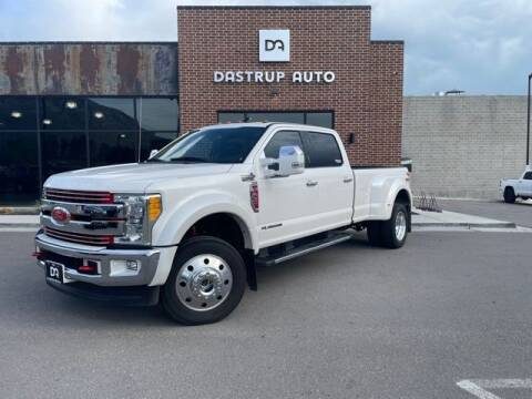 2017 Ford F-450 Super Duty for sale at Dastrup Auto in Lindon UT