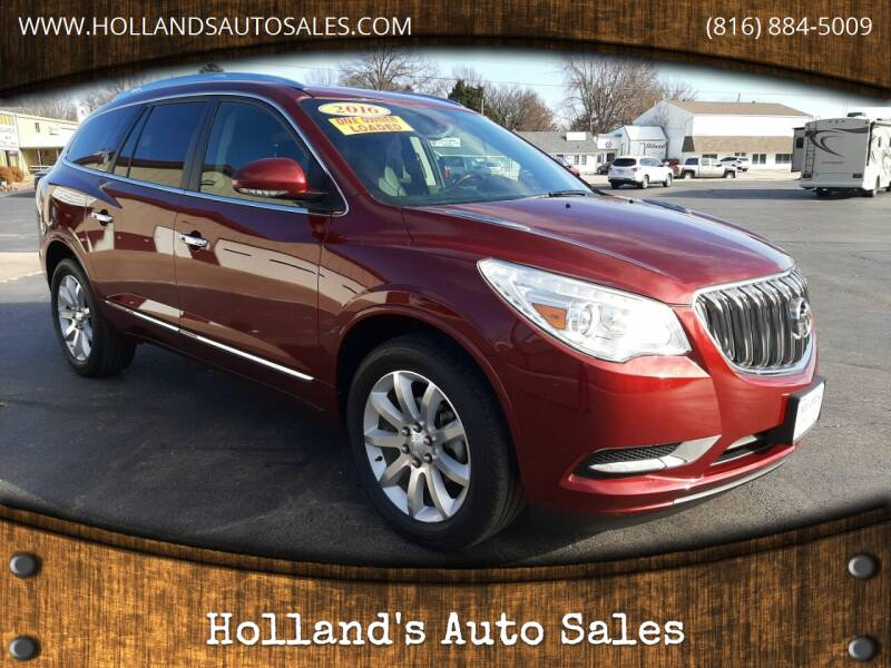 2016 Buick Enclave for sale at Holland's Auto Sales in Harrisonville MO