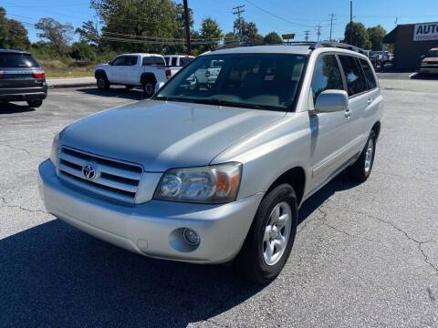 2006 Toyota Highlander for sale at Brewster Used Cars in Anderson SC