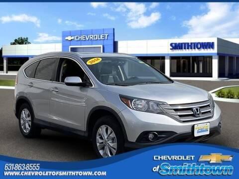 2014 Honda CR-V for sale at CHEVROLET OF SMITHTOWN in Saint James NY