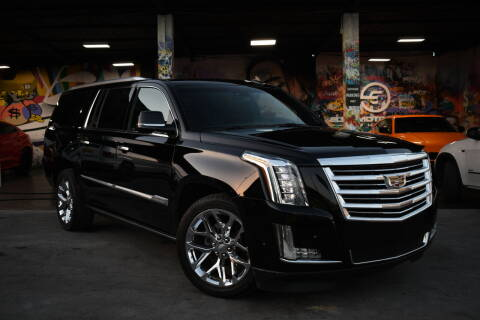 2017 Cadillac Escalade ESV for sale at STS Automotive - Miami, FL in Miami FL