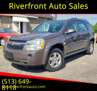 2007 Chevrolet Equinox for sale at Riverfront Auto Sales in Middletown OH