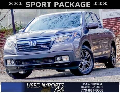 2020 Honda Ridgeline for sale at Used Imports Auto in Roswell GA