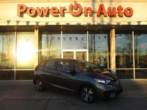 2016 Honda Fit for sale at Power On Auto LLC in Monroe NC