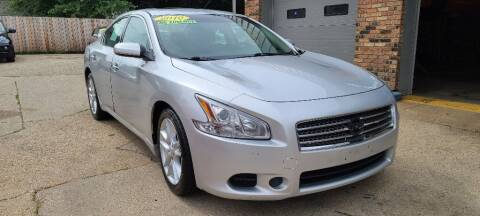 2010 Nissan Maxima for sale at LOT 51 AUTO SALES in Madison WI
