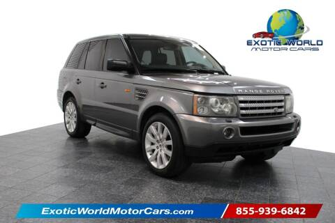 2007 Land Rover Range Rover Sport for sale at Exotic World Motor Cars in Addison TX