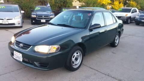 2001 Toyota Corolla for sale at Carspot Auto Sales in Sacramento CA