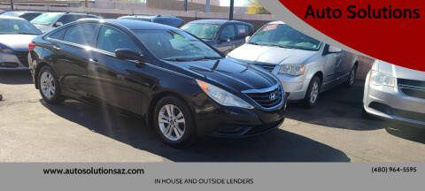 2012 Hyundai Sonata for sale at Auto Solutions in Mesa AZ
